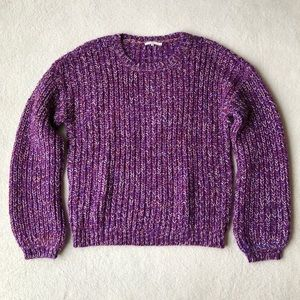 Tularosa Leo Crew in Purple & White
